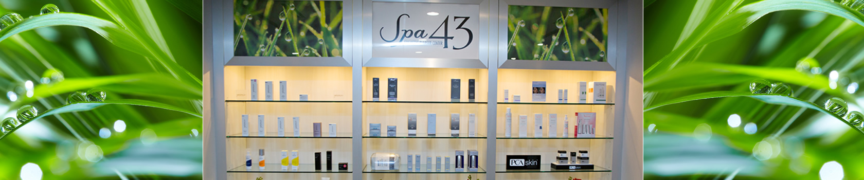 Skin Care at Spa 43